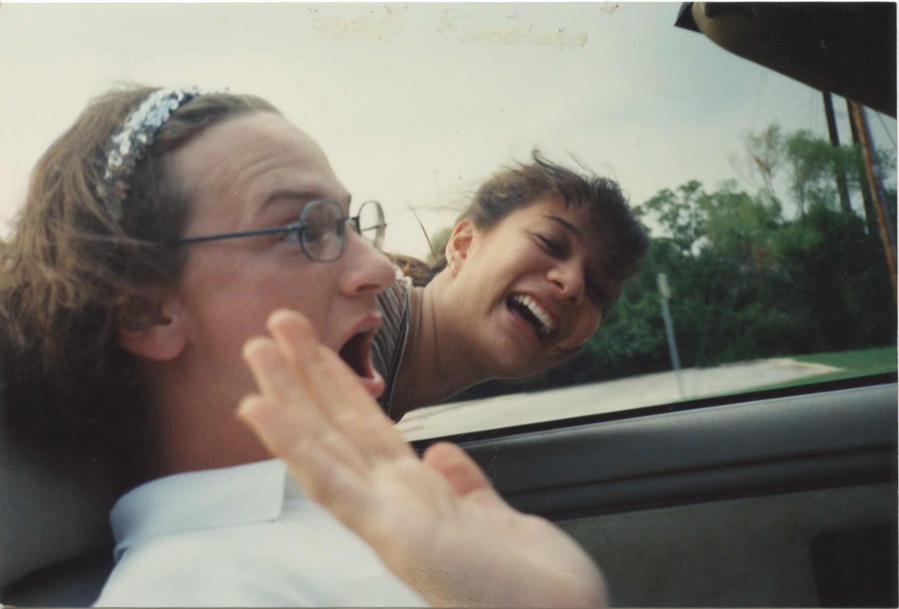 Sweeney Sisters Christmas Party Video Part - 39: Just A Few Pictures Of Tommy, Amy And I From Some Of My Favorite Days In  The 90u0027s. We Would Drive Around Austin Pretending To Be Tourists.